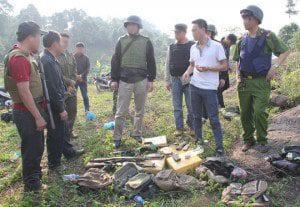 (New) Cảnh Sát VN đấu súng với 28 tội phạm buôn ma túy 04/5/2015