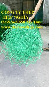 Hàng rào lưới b40 màu xanh